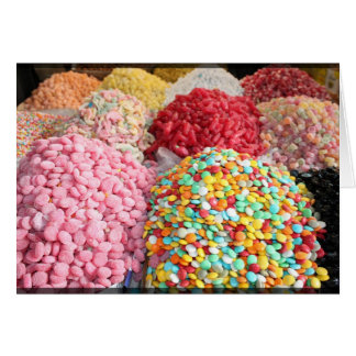 Carte Bonbons dans le bazar - Damas, Syrie
