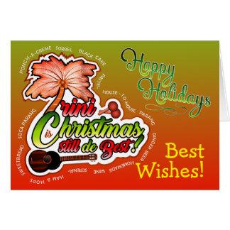 Carte Bonnes fêtes/Noël de Trini