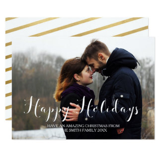 Carte Bonnes fêtes salutations de famille de Noël de