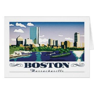 Carte Boston, le Massachusetts