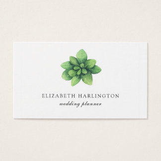 Carte botanique verte. Minimaliste de verdure.