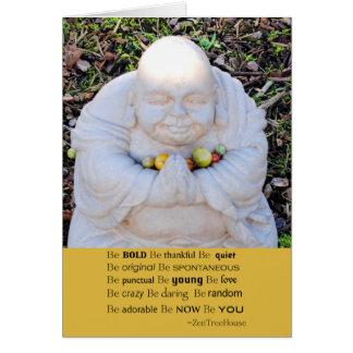 Carte Bouddha SOIT