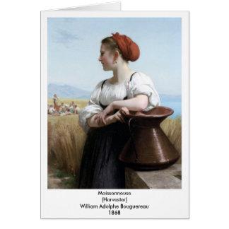 Carte Bouguereau - Moissonneuse