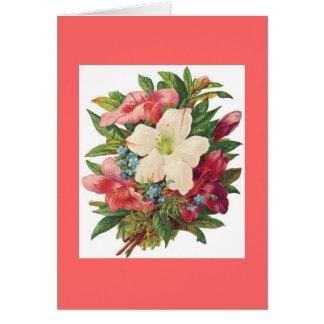 Carte Bouquet d'étés