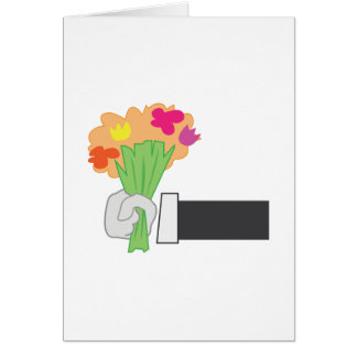 Carte Bouquet floral