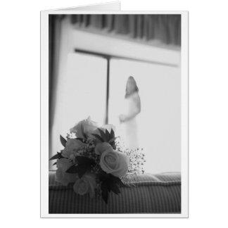 Carte Bouquet nuptiale