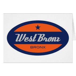 Carte Bronx occidental