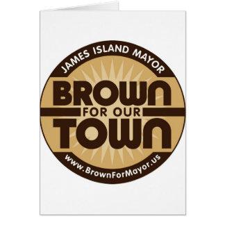 Carte Brown pour notre ville