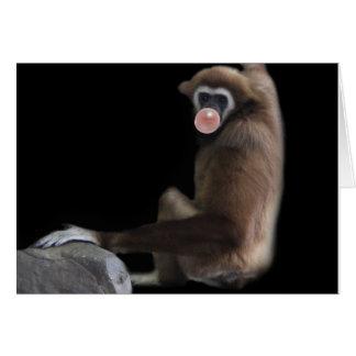 Carte Bulle de gibbon