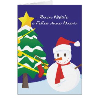 Carte Buon Natale e Felice Anno Nuovo