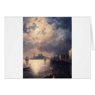 Carte Byron à Venise par Ivan Aivazovsky