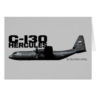 Carte C-130 Hercule