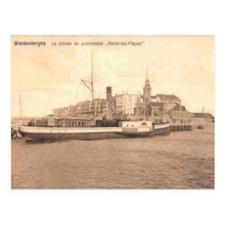 Carte C. 1900 de reproduction de Blankenberghe