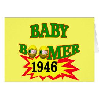 Carte Cadeaux 1946 de T-shirts de baby boomer