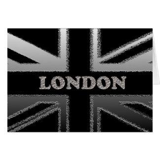 Carte Cadeaux d'art de drapeau d'Union Jack Londres