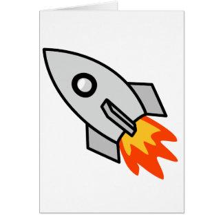 Carte Cadeaux de fusée de tir