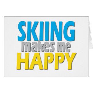 Carte Cadeaux pour des skieurs