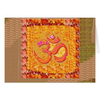 Carte CADEAUX TOUS de méditation de chant de yoga