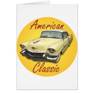 Carte Cadillac 1956 DeVille