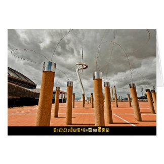 Carte Calatrava's Antenne, Barcelone