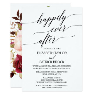 Carte Calligraphie élégante avec la fugue florale de