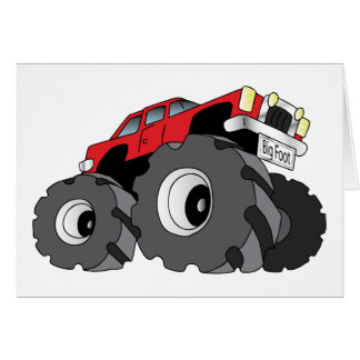 Carte Camion de monstre