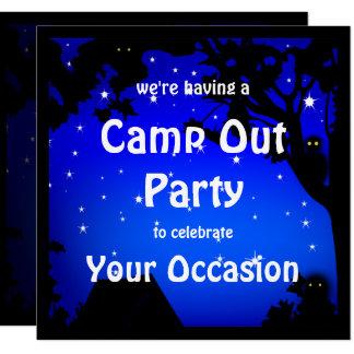 Carte Campent l'invitation de partie