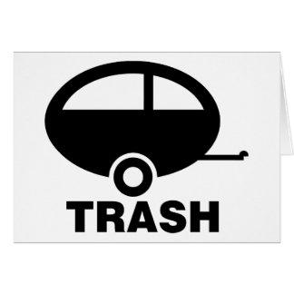 Carte Camping de voyage du ~ rv de déchets de remorque