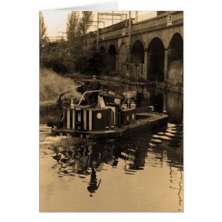 Carte Canal de Leeds et de Liverpool