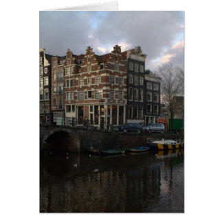 Carte Canaux à Amsterdam