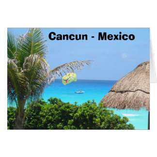 Carte Cancun - le Mexique