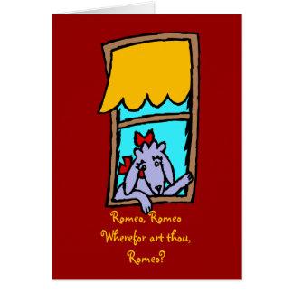 Carte Caniche de Romeo