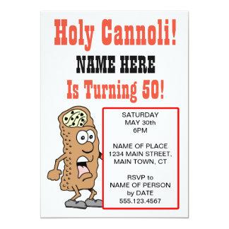 Carte Cannoli saint tournant l'invitation de 50 parties