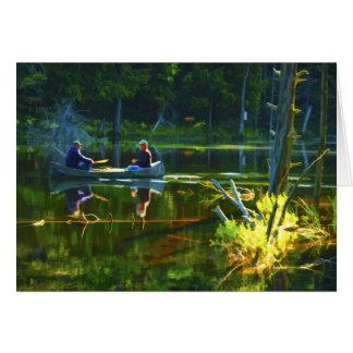 Carte Canoë-kayak dans la photographie de voyage