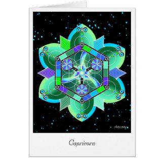 Carte Capricorne
