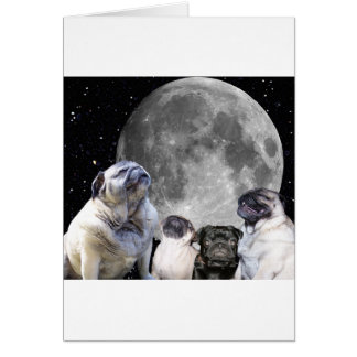 Carte Carlin de lune du carlin quatre