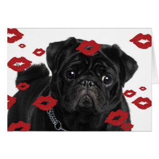 Carte Carlins et baisers