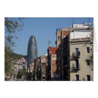 Carte Carrer De Badajoz et Torre Agbar, Barcelone
