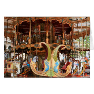 Carte Carrousel au d'Horloge