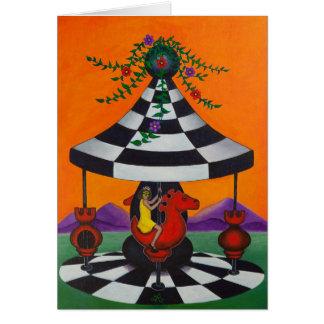 Carte Carrousel d'échecs