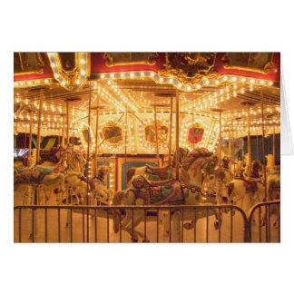 Carte Carrousel la nuit