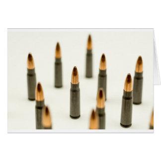 Carte Cartouche 7.62x39 d'AK47 de balle de munitions