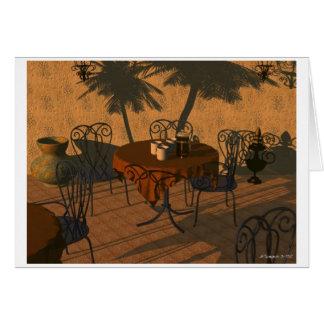 Carte Casablanca Coffeebreak