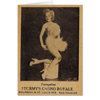 Carte Casino orageux Royale