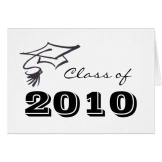 Carte Casquette de diplômé
