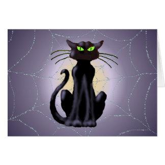 Carte CAT NOIR par SHARON SHARPE