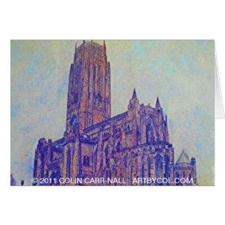 Carte Cathédrale Anglicane Liverpool par Colin Carr-Nall