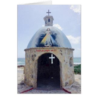 Carte Cathédrale sur la plage