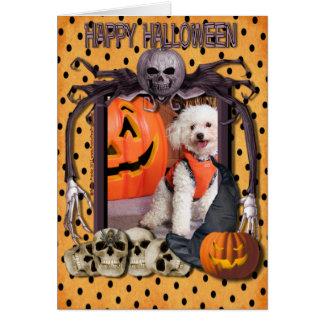 Carte Cauchemar de Halloween - Chloe - Poochon -