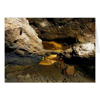 Carte Caverne de tube de lave